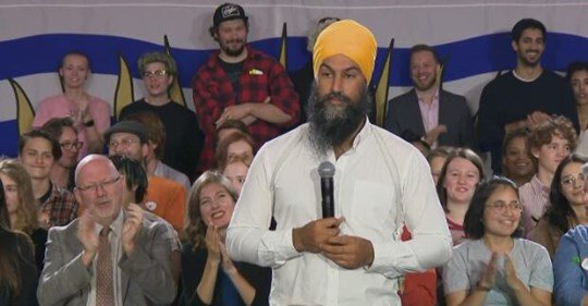 Jagmeet Singh says he 'wasn't joking' on hoping Donald Trump is impeached