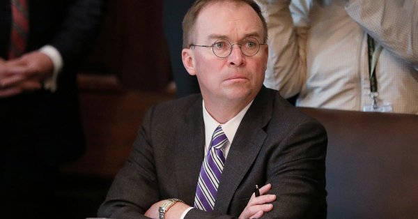 Mulvaney's OMB Held Up Lethal Ukraine Aid in 2017 for Fear of Russian Reaction