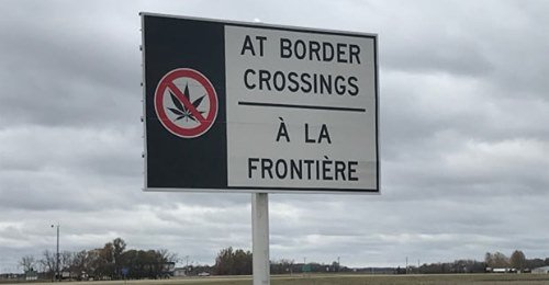 Travellers who don't declare cannabis at the border will soon face fines